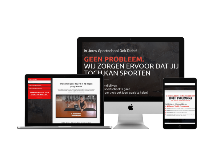 Fitness Thuis Trainen Funnel